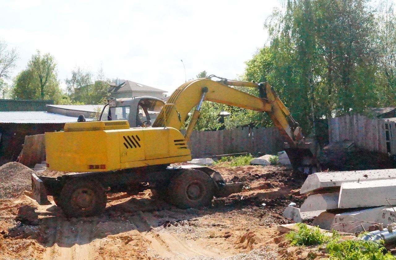 В центре Вологды уничтожили часть памятника археологии