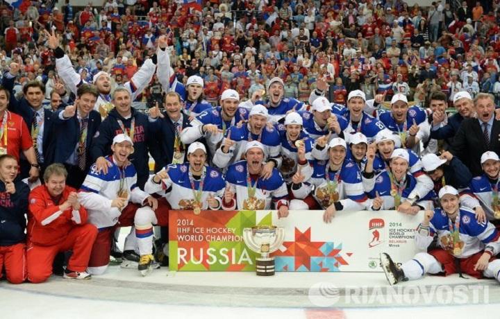 Двое череповчан стали чемпионами мира по хоккею в составе сборной России