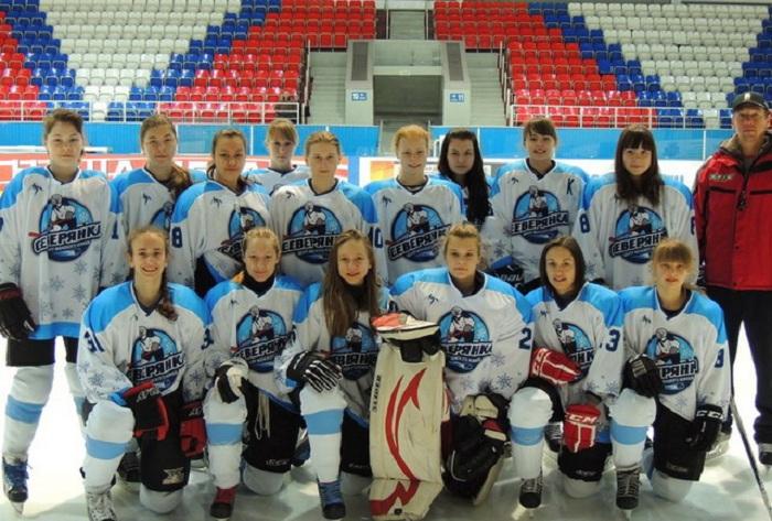 Череповецкие хоккеистки показали себя на Всероссийских соревнованиях