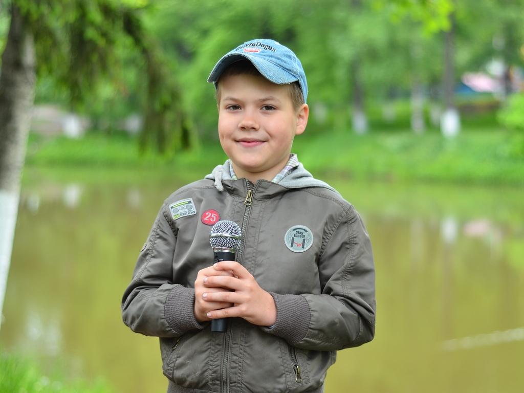Второклассник освоил профессию журналиста для конкурса «Я люблю Вологду!»