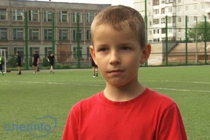 Второклассник из Череповца выйдет на поле Чемпионата мира по футболу в Бразилии