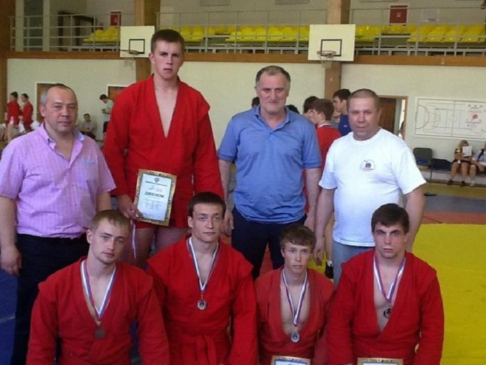 Вологодские самбисты завоевали 5 медалей на Спартакиаде Северо-Западного федерального округа