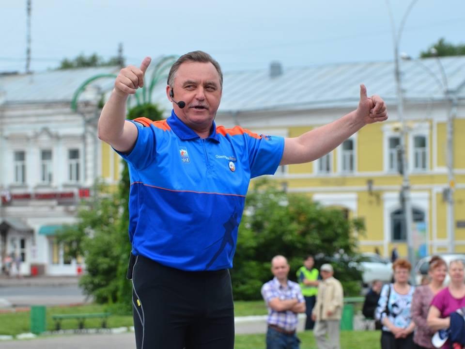 Глава Вологды выступил в роли детского тренера