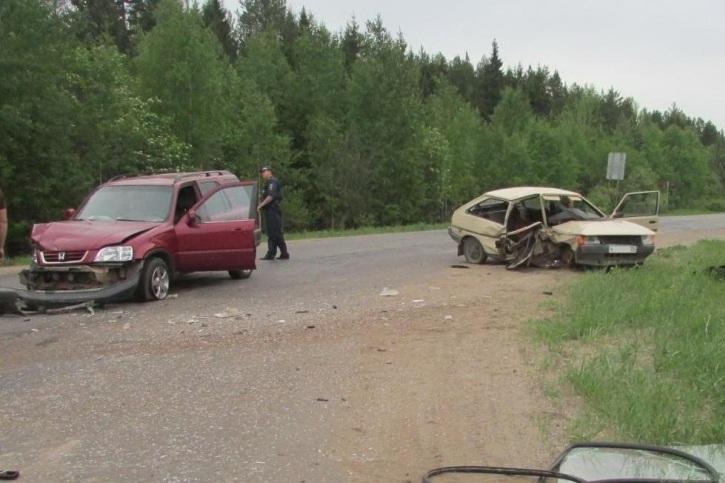 В Вологодской области в ДТП погибли пассажир и пешеход