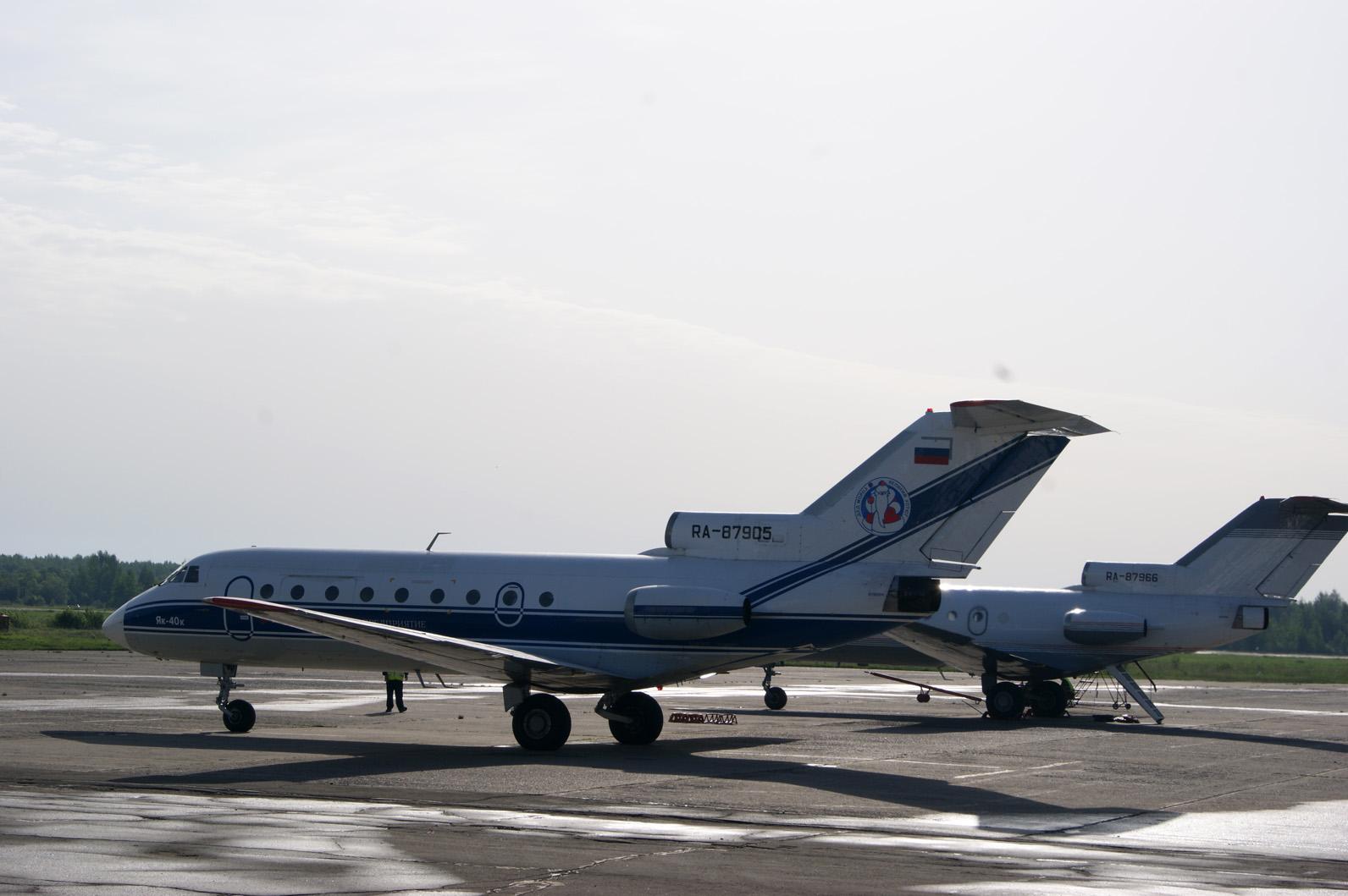 Из Вологды в Москву теперь можно долететь за полтора часа