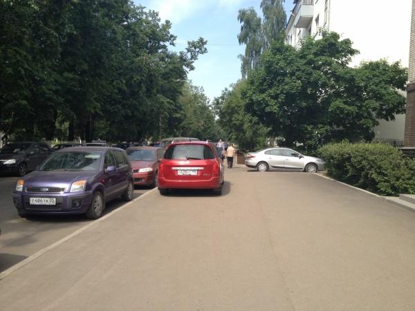 Очередной мастер парковки
