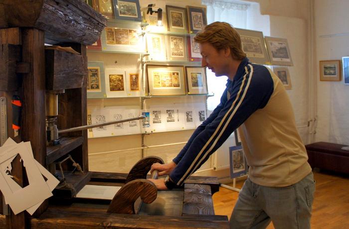 Туристам предлагают стать первопечатниками в Кирилло-Белозерском музее