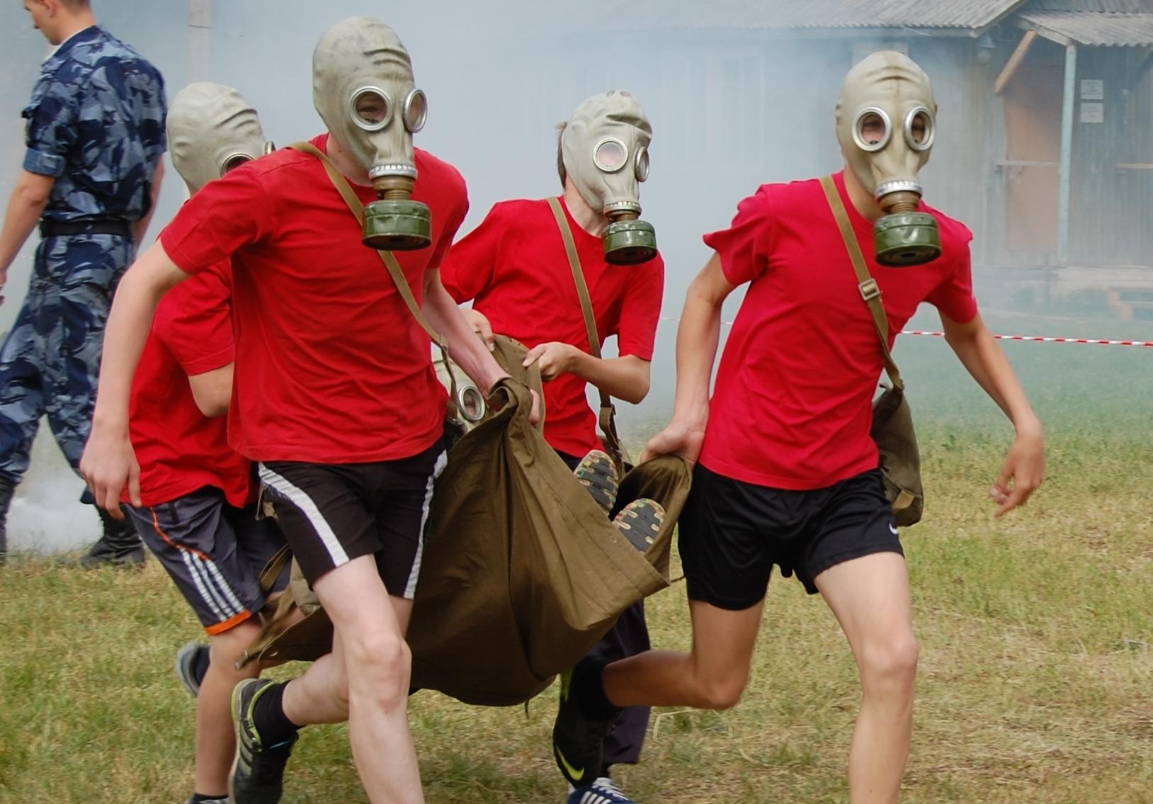 Вологодские школьники прошли курс молодого бойца на загородной базе ВИПЭ