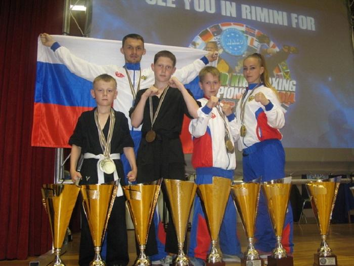 Череповецкие кикбоксеры стали «Лучшими бойцами мира»