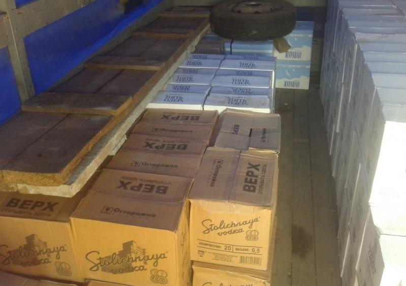 12 тысяч бутылок алкоголя с поддельными акцизами изъяли в Череповце