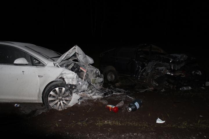 Шесть человек пострадали в ДТП на трассе Вологда-Новая Ладога
