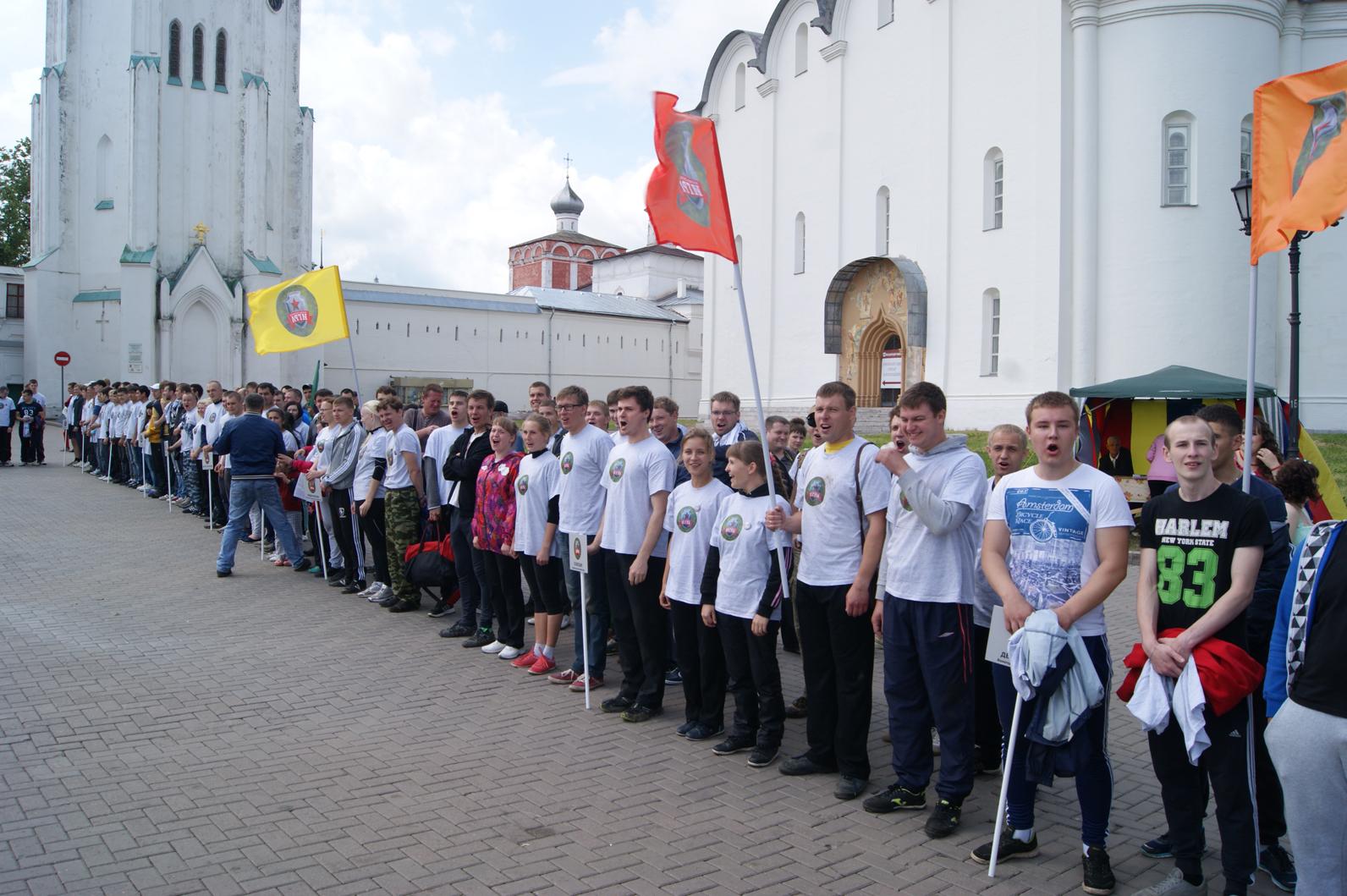 В Вологде 10 спартанцев из МВД победили  на Зарнице