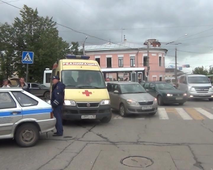 В Вологде в ДТП пострадал ребенок