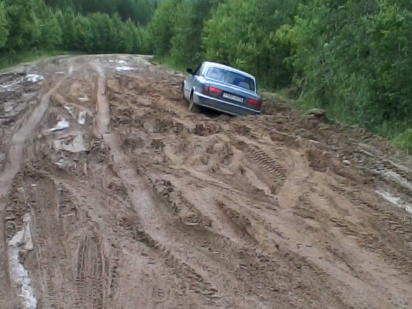 Ужасное состояние дорог Кич-Городецкого района