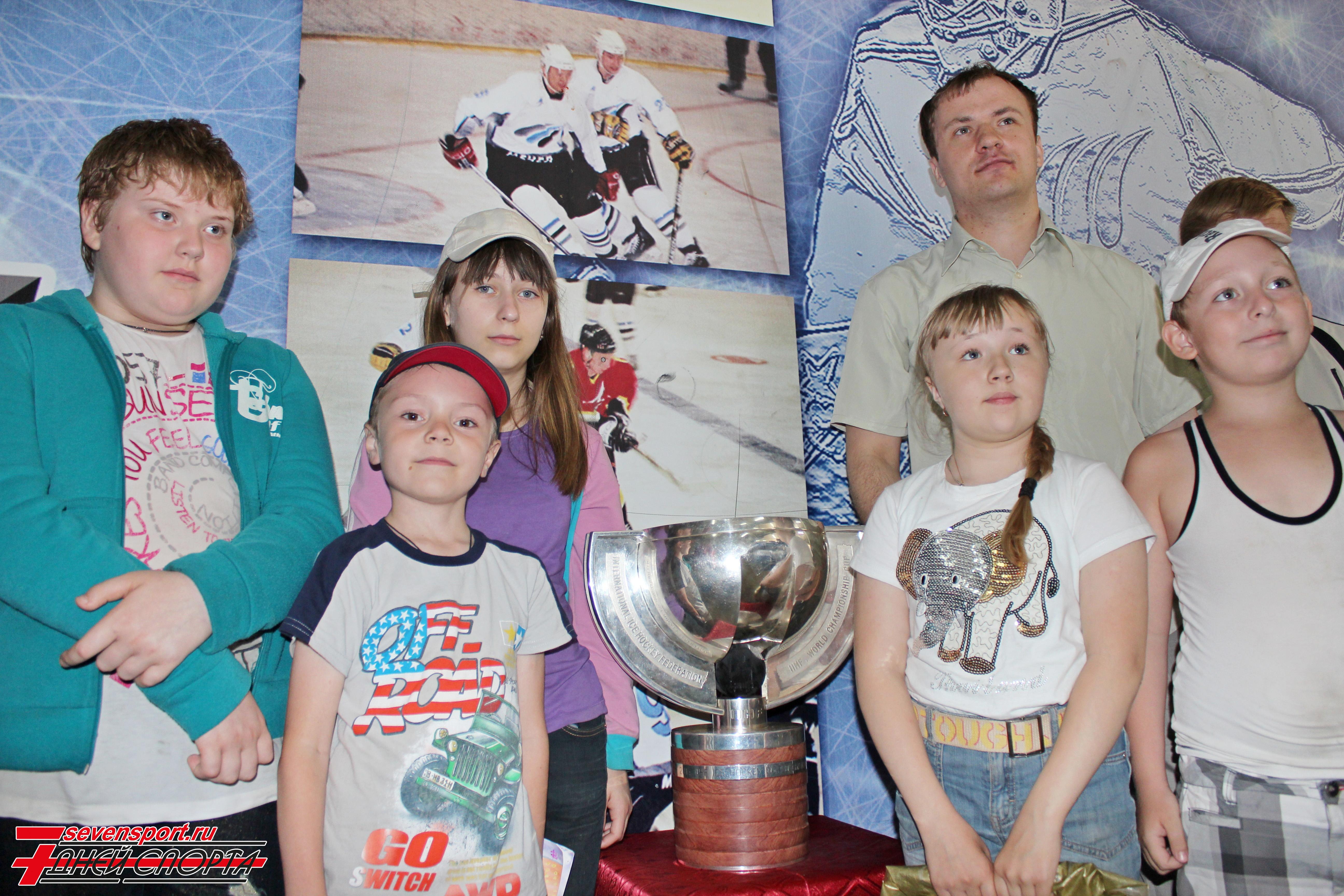 Кубок победителей Чемпионата мира по хоккею побывает в Череповце