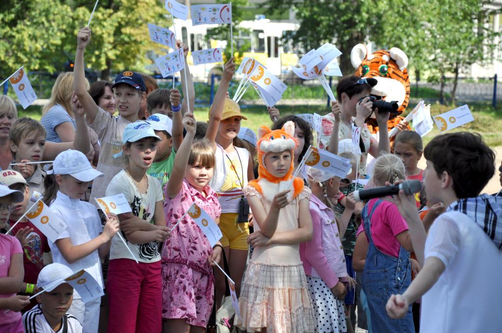 В Вологде открылись дополнительные площадки «Города детства»