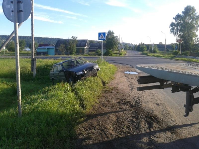 Пьяного водителя ловили вологодские и архангельские полицейские
