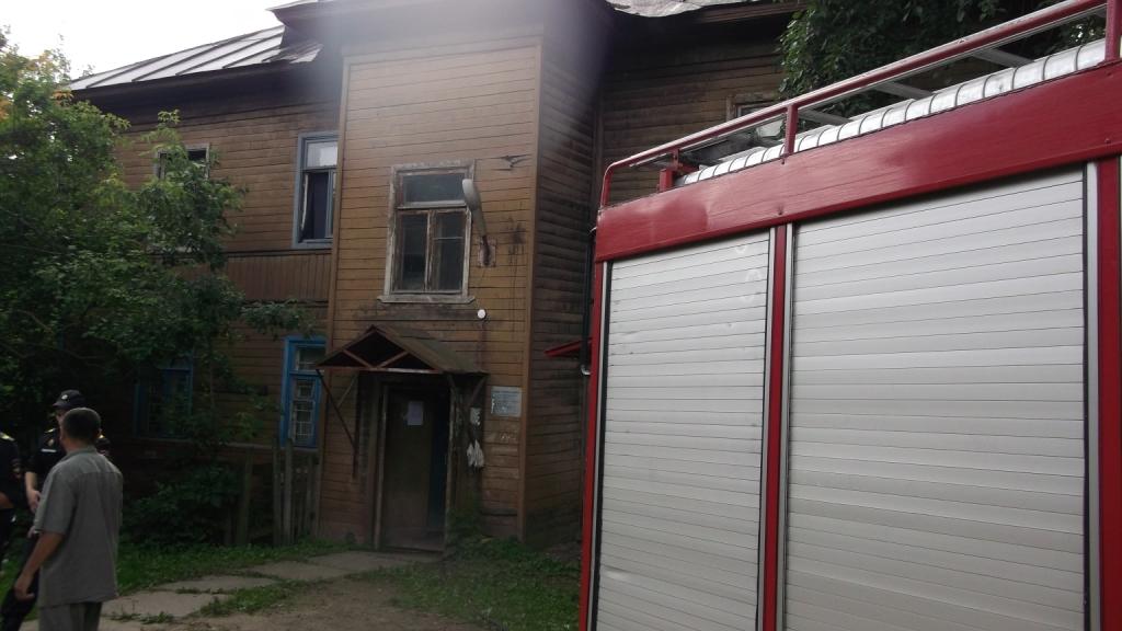 В Череповце женщина устроила пожар из мести