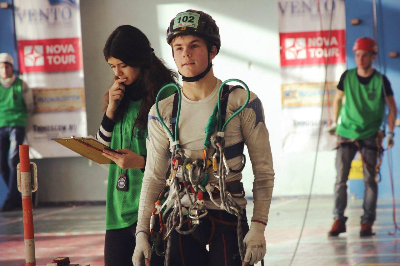 Вологжанин стал бронзовым призером Кубка России по спортивному туризму