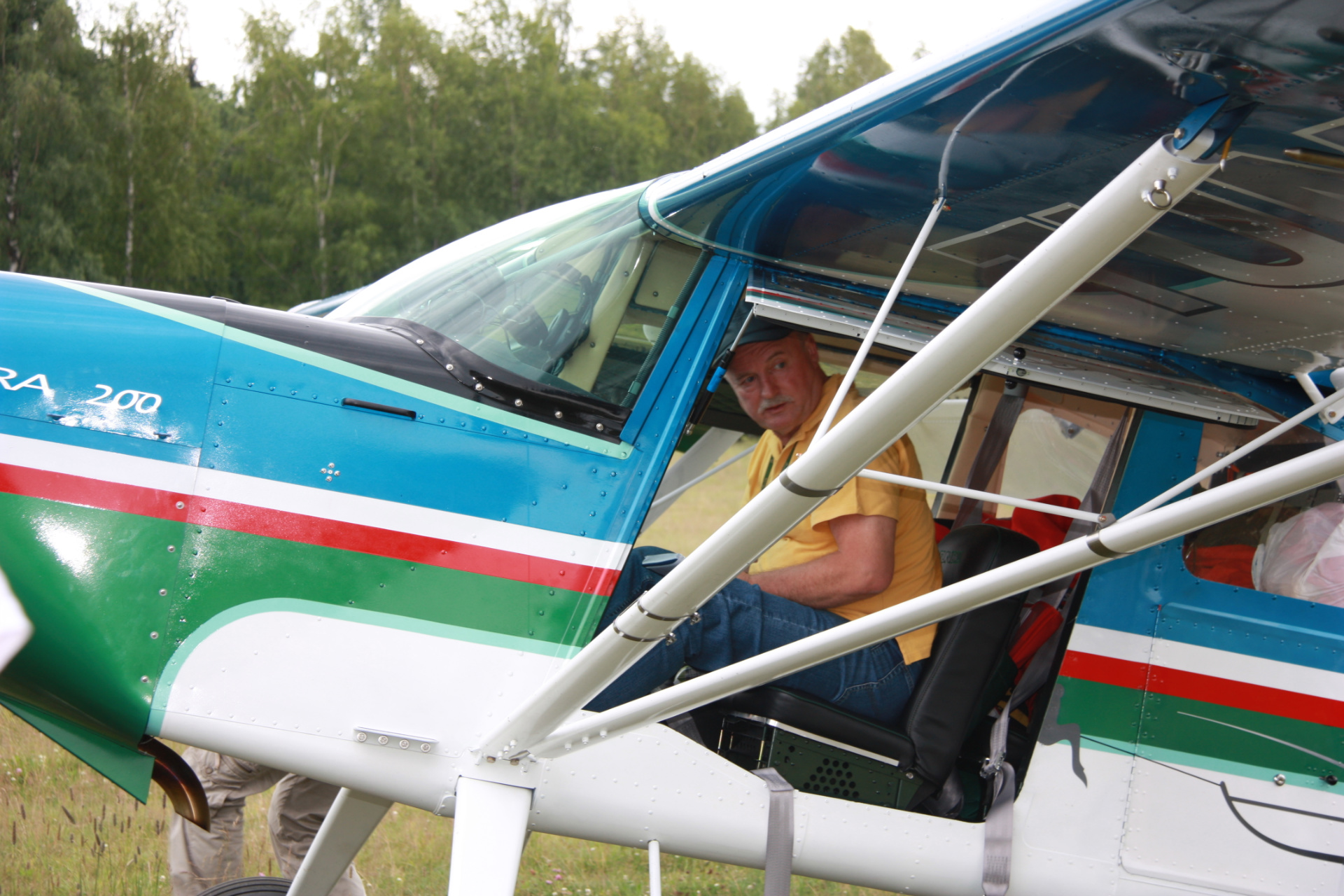Александр Перфильев: Легкомоторная авиация поможет развивать туризм в Вологодской области
