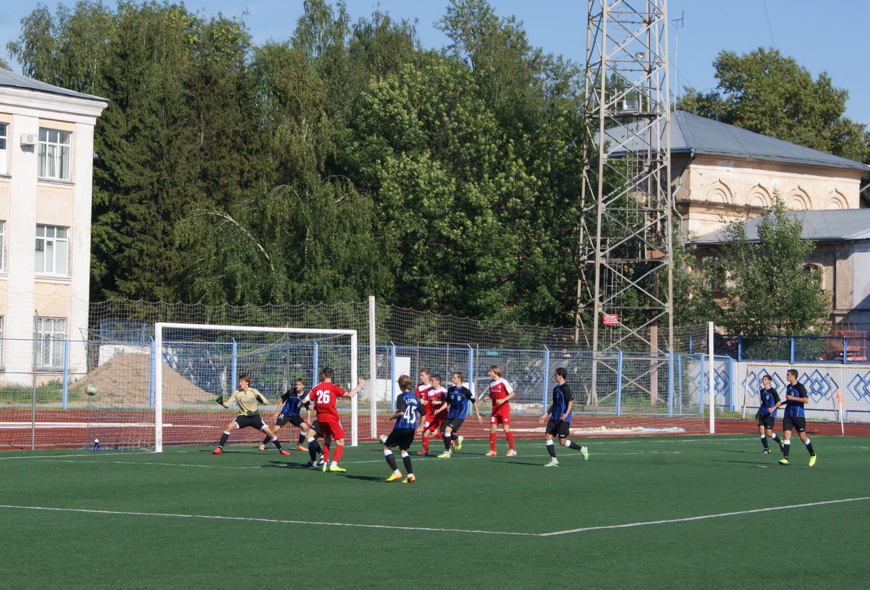 «Вологда-М» проиграла в первом финальном матче Кубка III дивизиона «Золотое кольцо»
