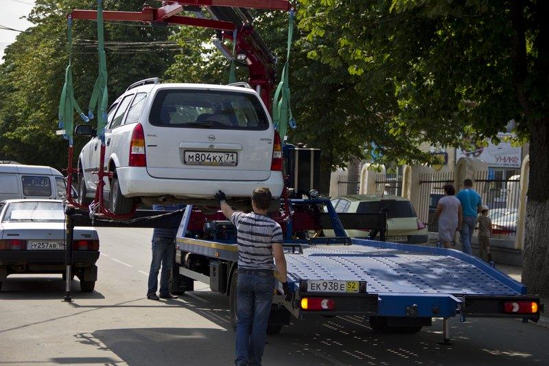 Штрафстоянка на улице Северной в Вологде закрывается