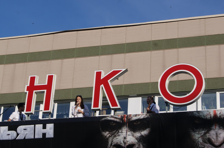 На крыше кинотеатра «Ленком» вологодские музыканты пели песни «Битлз»