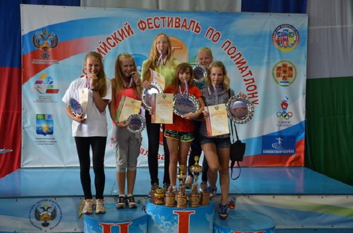 Вологодская спортсменка стала победительницей двух турниров по полиатлону