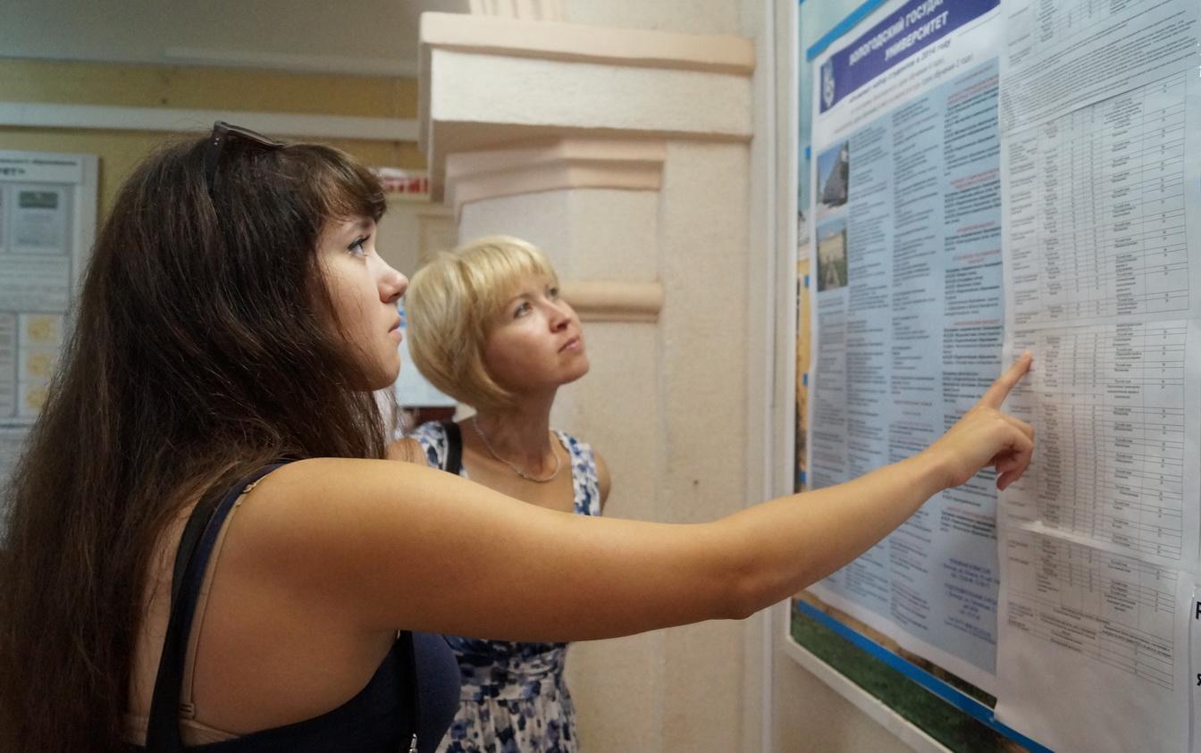 В Вологодском государственном университете абитуриентов стало в полтора раза больше