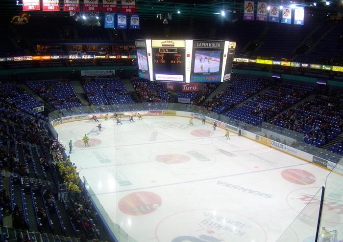 Хоккеисты «Северстали» сыграют против питерского «СКА» на главной арене Финляндии