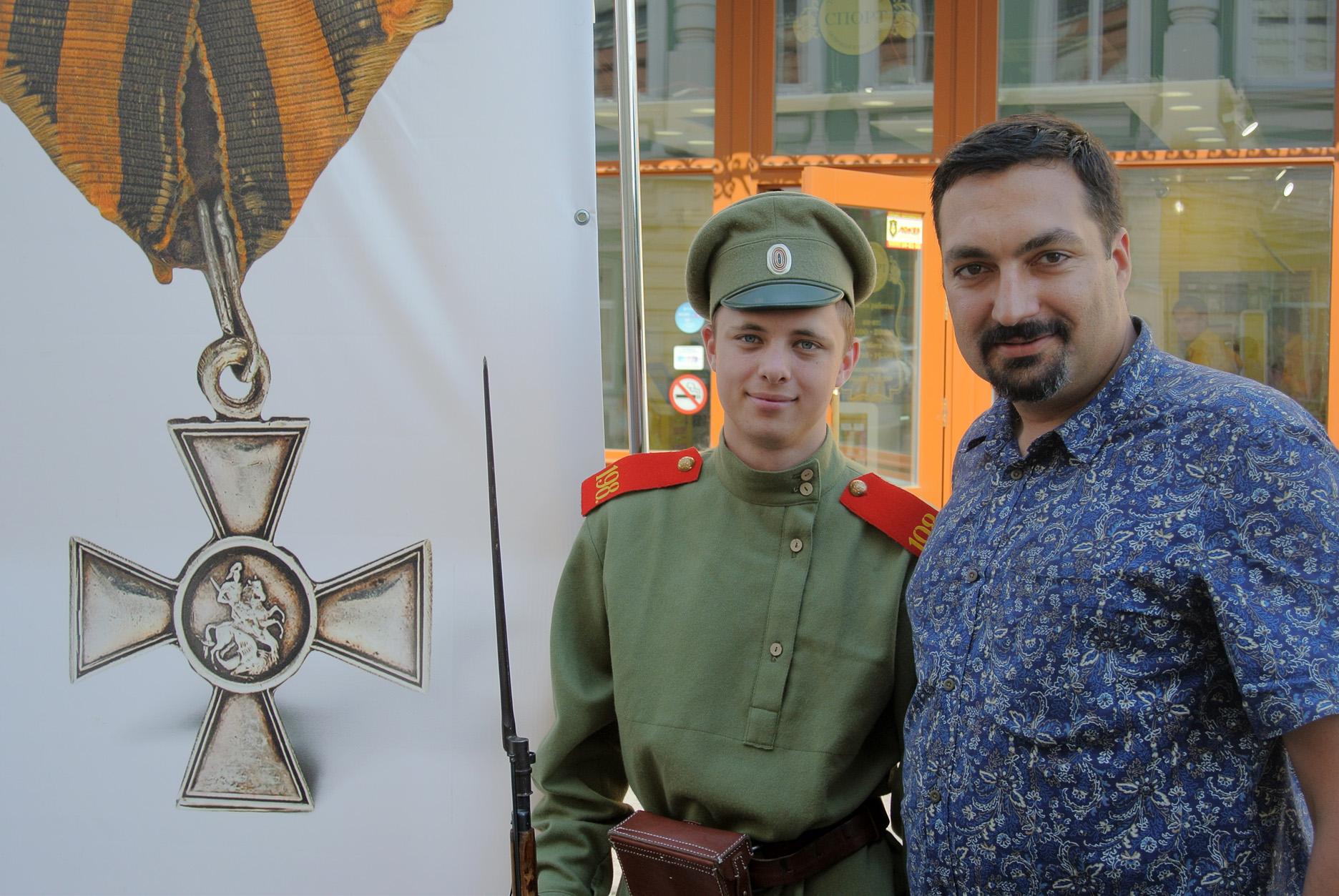 «Солдаты Александро-Невского полка» напомнили вологжанам о Первой мировой войне