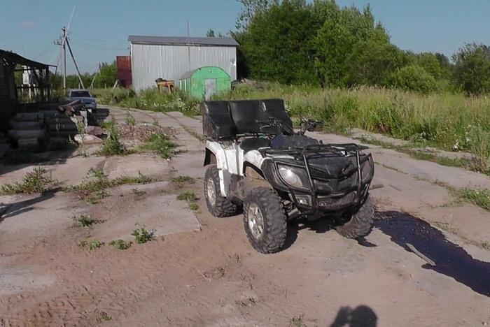 9-летний ребёнок в Вологодской области погиб, катаясь на квадроцикле