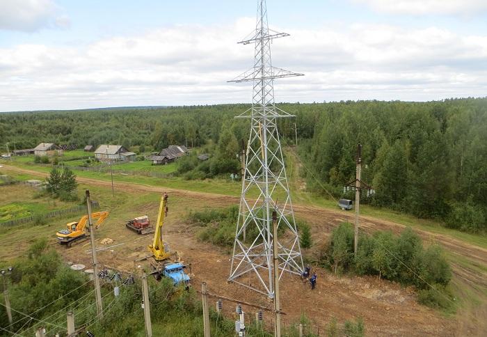 Филиал МРСК Северо-Запада «Вологдаэнерго» ввел в эксплуатацию подстанцию «Карица» в Тотемском районе