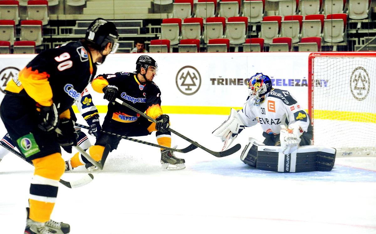 Хоккеисты «Северстали» одержали вторую победу на «Стальном Кубке» в Чехии