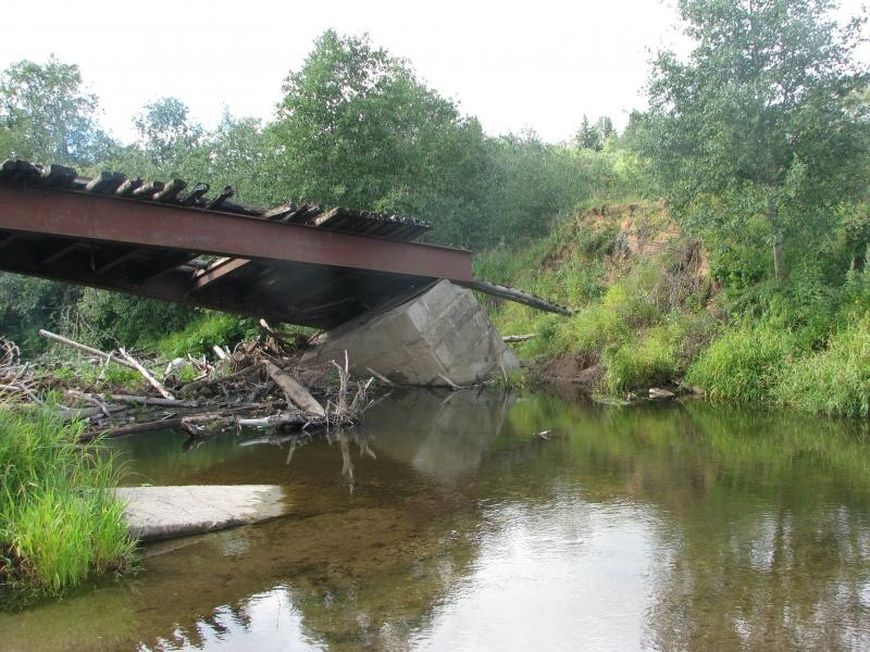 Вологжане пытались украсть мост и сдать его на металлолом