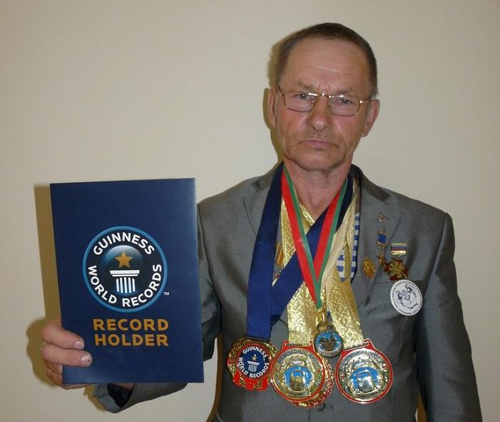 Житель Вологодской области стал одиннадцатикратным чемпионом мира