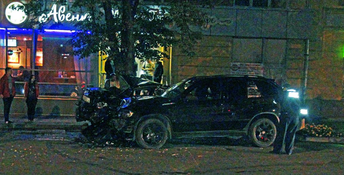 Погоня в Вологде закончилась аварией