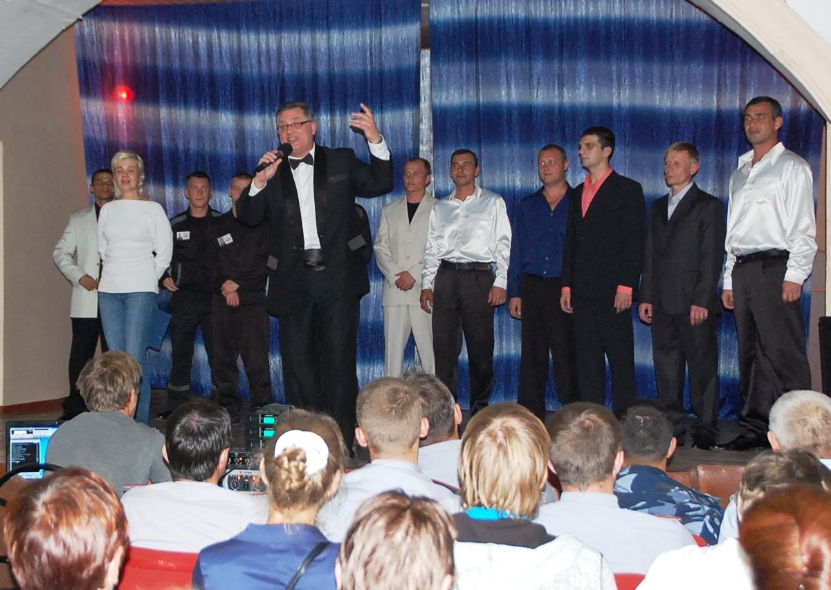 На «Вологодском пятаке» впервые прошел концерт для заключенных