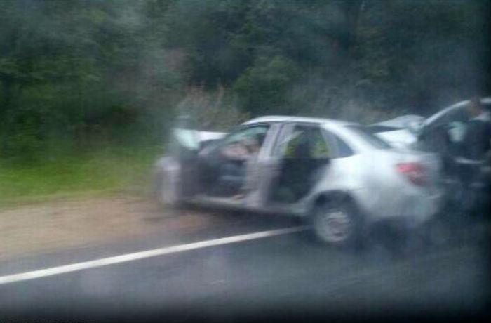 ДТП на трассе Вологда - Новая Ладога: пострадал полицейский и его шофер