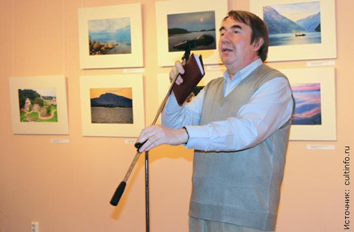 Директор вологодской картинной галереи отмечает юбилей