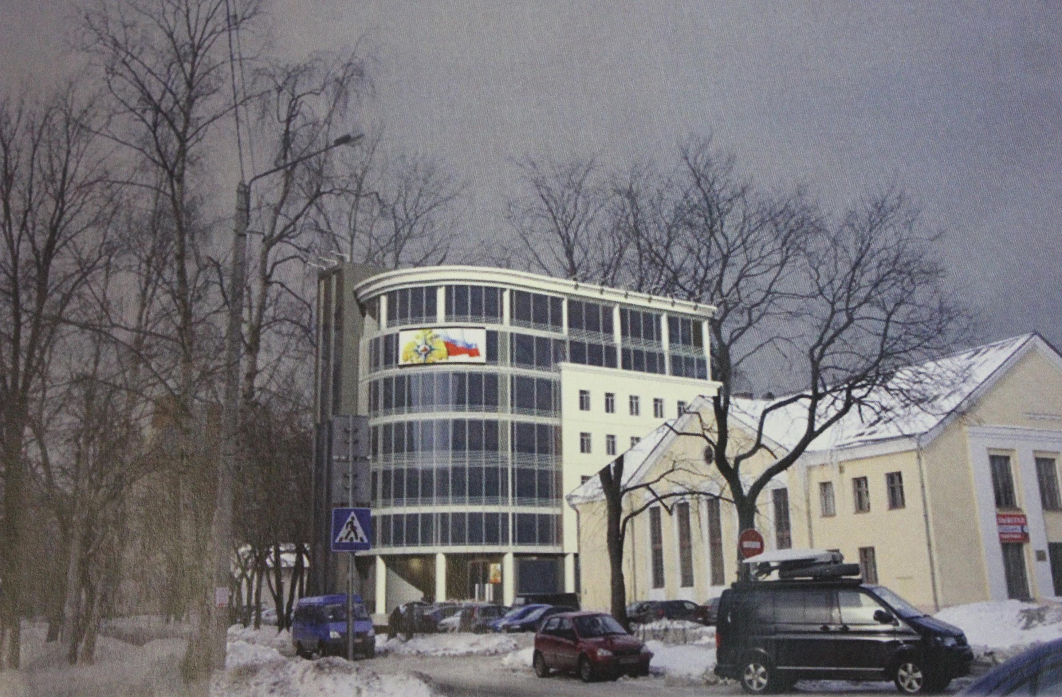 Для вологодского МЧС построят 7-этажное здание в центре города