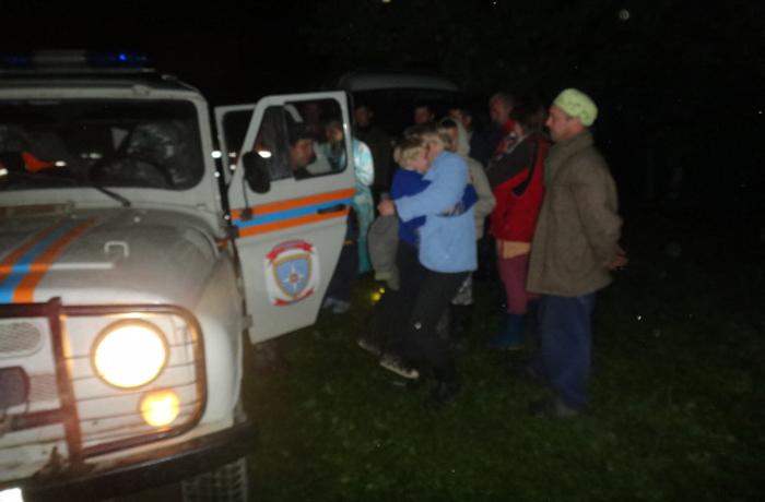 В череповецком лесу нашли трех школьников