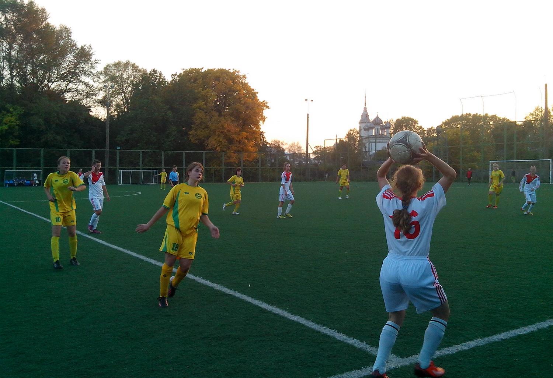 Женская сборная области по футболу сыграла вничью с ярославской «ДЮСШ-13»