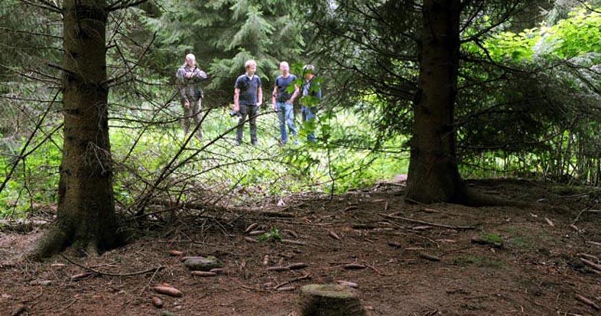 Мужчина умер в вологодском лесу, еще двух женщин удалось вывести