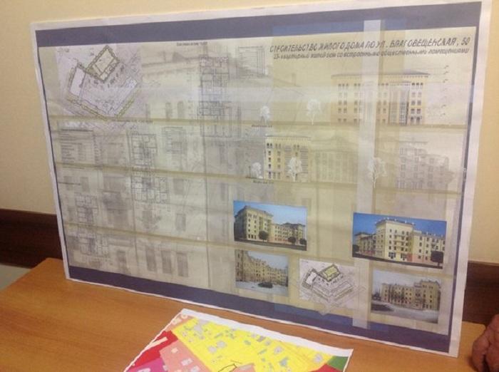 Публичные слушания по строительству многоэтажки в центре Вологды окончились бегством председателя