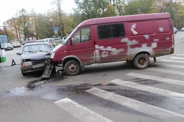 ДТП в центре Вологды