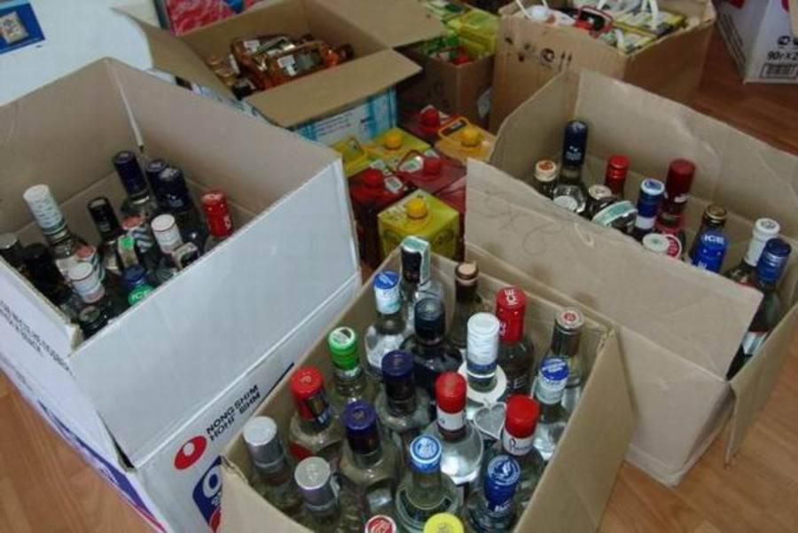 Поддельный алкоголь на 6 миллионов рублей изъяли в Вологде