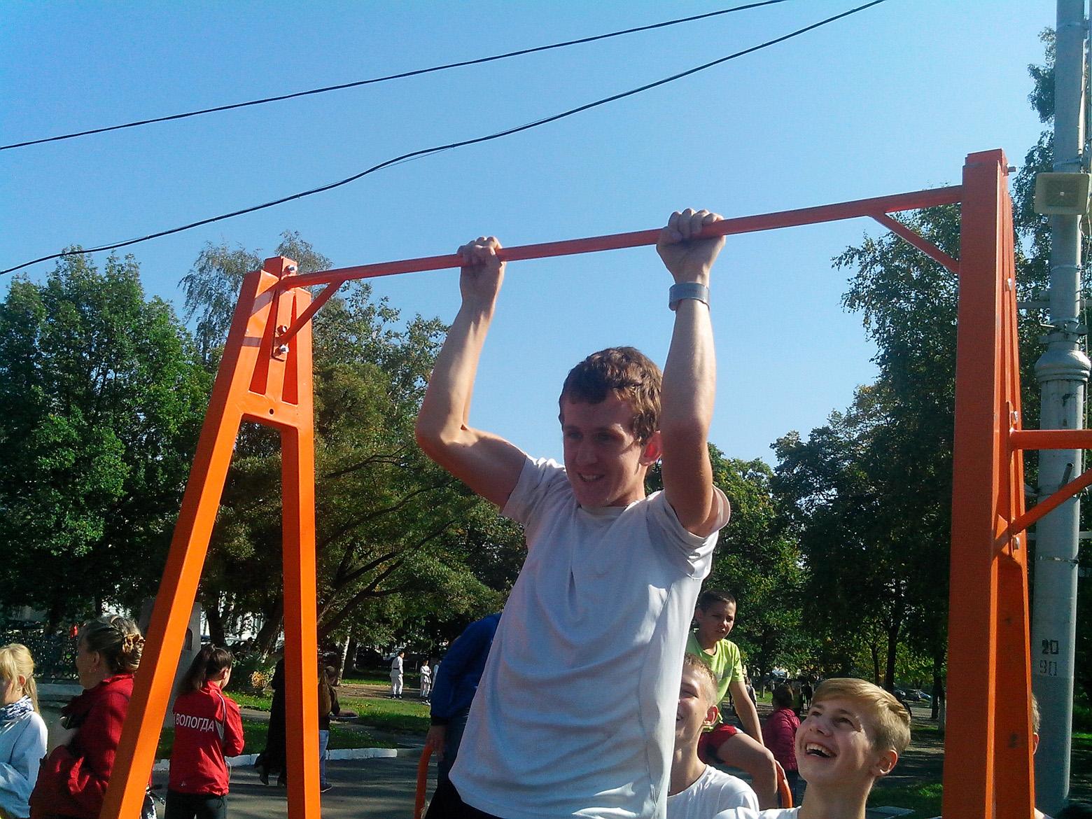 Школьники Вологодской области готовятся к сдаче норм ГТО