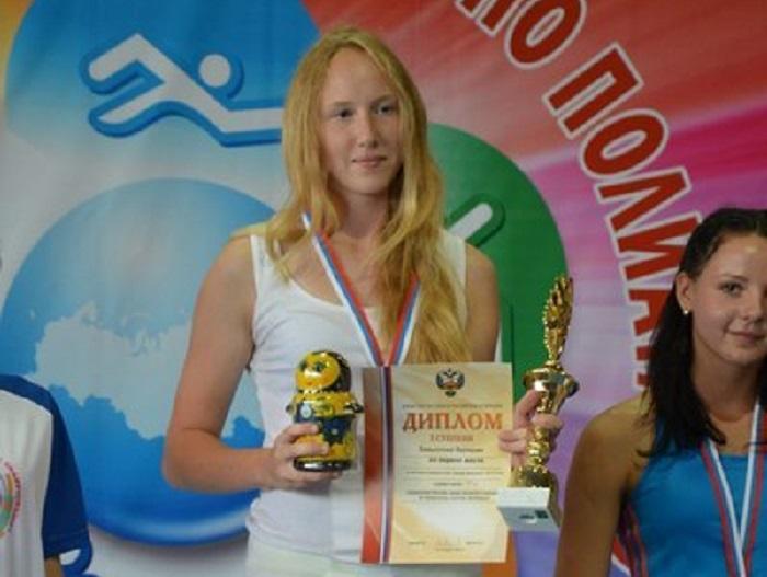 Вологодская школьница принимает участие в мировом первенстве по летнему полиатлону