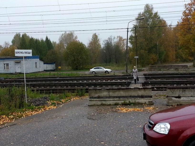 89-летнюю вологжанку сбил поезд в Шексне